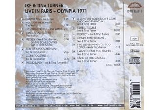 Ike & Tina Turner - Live In Paris Olympia 1971 - (CD)