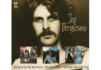 Jay Ferguson - All Alone In The End Zone+Thunder Island+Real Life Ain't This Way - (CD)