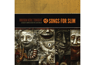 VARIOUS - Songs For Slim: Rockin' Here Tonight-A Benefit Comp [CD]