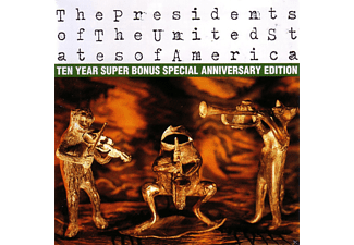 The Presidents Of The United States Of America - Ten Year Super Bonus Special Anniversary Edition - (CD)