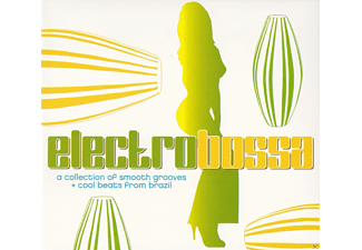 VARIOUS, Edson X - Electro Bossa - A Collection Of Smooth Grooves And Cool Beats From Brazil - (CD)