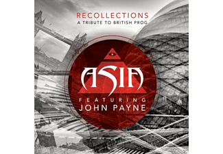 Asia Featuring John Payne - Recollections: A Tribute To British Prog - (CD)
