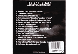 VARIOUS - The Man Is Back-A Tribute To Joh - (CD)