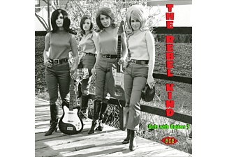 VARIOUS - The Rebel Kind-Girls With Guitars 3 - (CD)