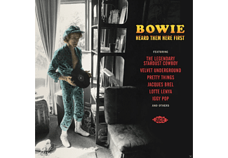 VARIOUS - Bowie Heard Them Here First - (CD)