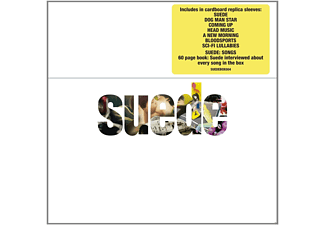 Suede - Cd Albums Box Set (8cd+Book) - (CD)
