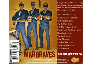 The Margraves - On The Warpath - (CD)