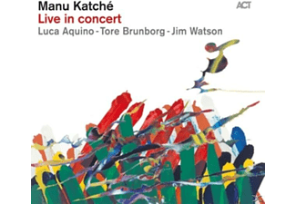 Manu Katché - Live In Concert - (CD)
