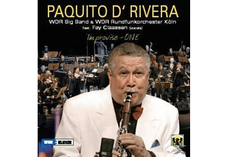 Paquito d'Rivera - Improvise-One-Live - (CD)