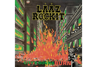 Lääz Rockit - City's Gonna Burn [CD]
