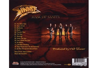 Sinner - Mask Of Sanity [CD]