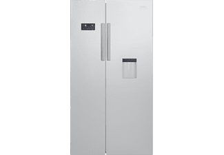 BEKO GN 163221 S Side-by-Side (484 kWh/Jahr, A+, 1820 mm hoch, Silber)