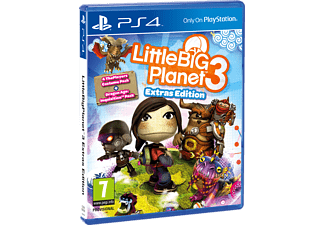 Little Big Planet 3 Extras Edition PS4