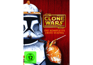 Star Wars: The Clone Wars - Staffel 1 - (DVD)