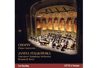 Janina Fialkowska, Bramwell Tovey, Vancouver Symphony Orchester - Chopin Piano Concertos - (CD)