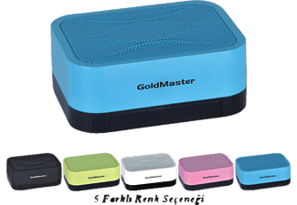 GOLDMASTER Mini Desk Hoparlör Pembe
