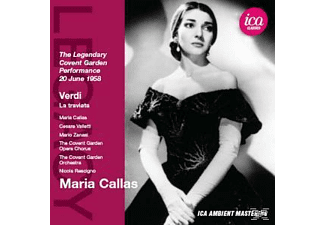 Maria Callas, The Covent Garden Opera Chorus And Orchestra, VARIOUS - Verdi: La Traviata - The Legendary Covent Garden Performance - (CD)