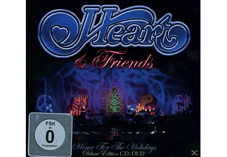 Heart - Heart & Friends - Home For The Holidays (Digipak) [CD + DVD Video]