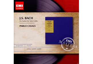 Casals Pablo - Cellosuiten [CD]