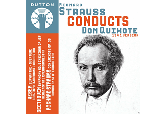 Berliner Philharmoniker, Berliner Staadtsoper Orchester, Bayerisches Staatsorchester - Richard Strauss Conducts Don Quixote - (CD)