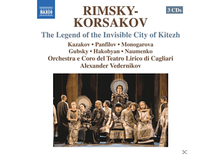 VARIOUS - The Legend of the Invisible City of Kitezh - (CD)