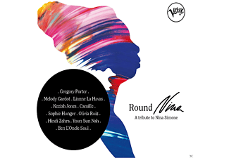 VARIOUS - Round Nina - A Tribute To Nina Simone - (CD)