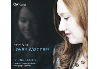 Dorothee Mields - Love's Madness - (CD)