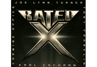 Joe Lynn Turner, Carmine Appice, Karl Cochran, Tony Franklin - Rated X [CD]