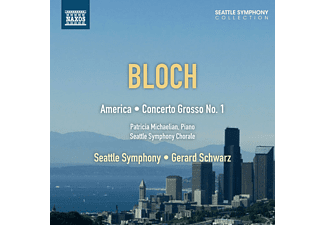 Patricia Michaelian, Seattle Symphony Chorale, The Seattle Symphony - America/Concerto grosso 1 - (CD)