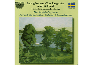 Maria Verbaite, Norrlands Operan Symphony Orchestra - Maria Verbaite: Pieces For Piano And Orchestra - (CD)