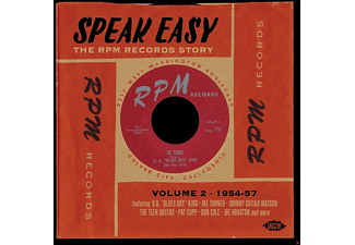 VARIOUS - Speak Easy - The Rpm Records Story Vol.2 1954-57 [CD]