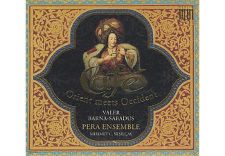 Pera Ensemble - Café - Orient Meets Okzident - (CD)