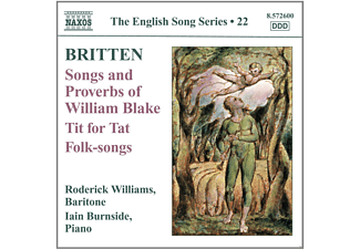 Ian Burnside, Roderick Williams - Songs And Proverbs Of William Blake - (CD)