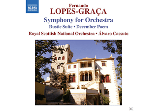 Royal Scottish National Orchestra - Symphonie f.Orchester/Suite Rustica - (CD)