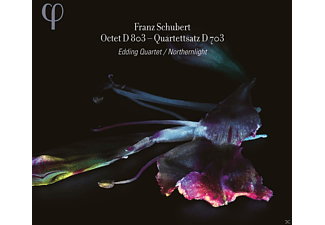 Edding Quartet - Northernlight - Oktett D 803 - Quartettsatz D 703 - (CD)