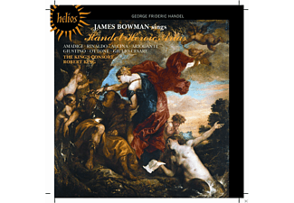 James Bowman, Robert King - James Bowman Singt Helden-Arien - (CD)