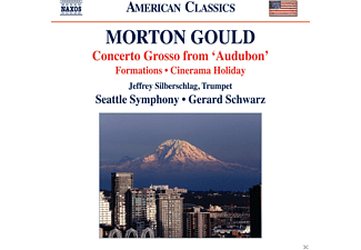 "Jeffrey Silberschlag, The Seattle Symphony - Concerto Grosso from ""Audubon"" - (CD)"