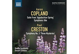 The Seattle Symphony - Suite aus Appalachian Spring/Sinfonie 3 - (CD)