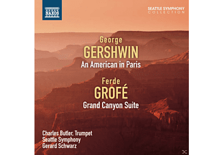 Charles Butler, The Seattle Symphony - Ein Amerikaner in Paris/Grand Canyon Suite - (CD)