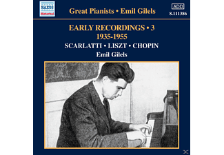 Emil Gilels - Great Pianists - Emil Gilels: Early Recordings Vol.3 - (CD)