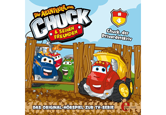 Chuck + Friends - Chuck & Friends 04: Chuck, der Privatdetektiv - (CD)