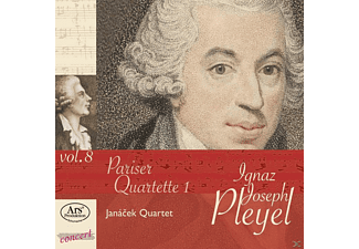 Janacek Quartet - Pariser Quartette Vol.1 - (CD)