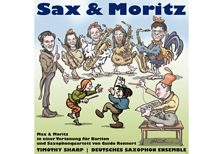 Deutsches Saxophon Ensemble, Timothy Sharp - Sax und Moritz - (CD)