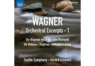 The Seattle Symphony - Orchestral Excerpts Vol.1 - (CD)