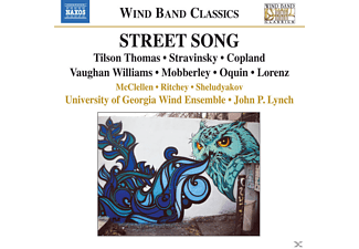 John P. Lynch, University Of Georgia Wind Ensemble, Anatoly Sheludyakov, Ellen Ritchey, Ray D. McClellen - Street Song - (CD)