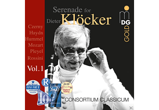 Consortium Classicum, The Czech Philharmonic Orchestra - Serenade For Dieter Klocker Vol.1 - (CD)