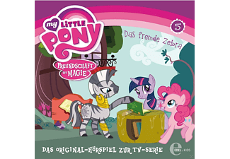 My Little Pony - My Little Pony 05: Das fremde Zebra - (CD)