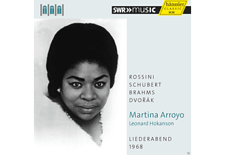 Martina Arroyo - Liederabend 1968 - (CD)