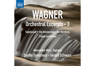 Alessandra Marc, The Seattle Symphony - Orchester-Auszüge Vol.3 - (CD)