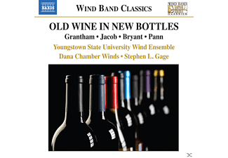Youngstown State University Wind Ensemble, Dana Chamber Winds - Old Wine In New Bottles - (CD)